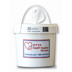 SHS-Wipes - Sanitizing Wipe Bucket (300ct)